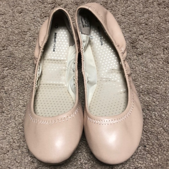 Time and Tru Shoes - Nude Flats